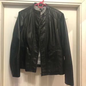 A.n.a Faux Leather Motorcycle Jacket